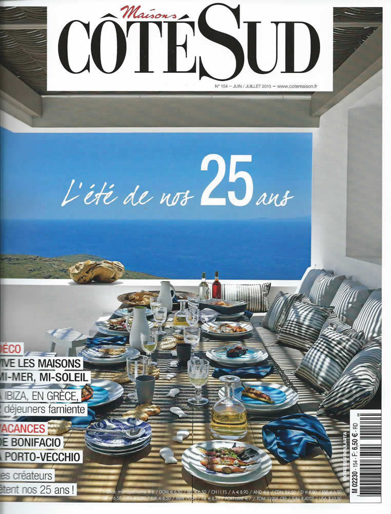 Vega Apartments in Côté Sud Magazine