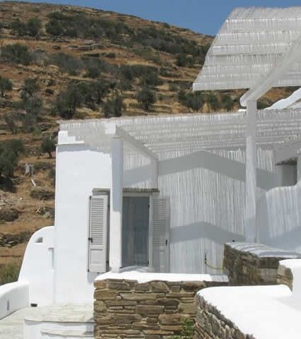 Vega Apartments in Tinos island, next to Mykonos and Andros in the Northern Cyclades