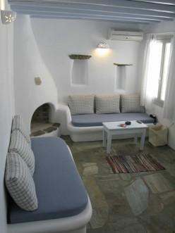 Altair, Υπνοδωμάτιο με διπλό κρεβάτι, Τήνος
