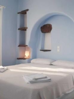Deneb, Υπνοδωμάτιο με διπλό κρεβάτι, Ξενοδοχείο Vega Apartments, Τήνος